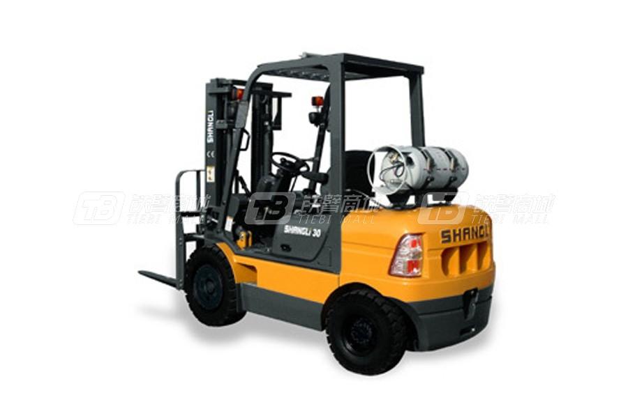 上力重工CPQYD25液化石油气平衡重式叉车