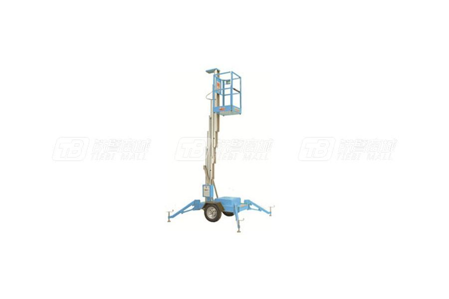 赛奇GTWT6-1006拖车式单桅高空作业平台