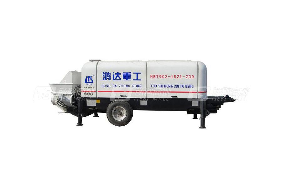 铁力士HBT90S-1821-200混凝土输送泵