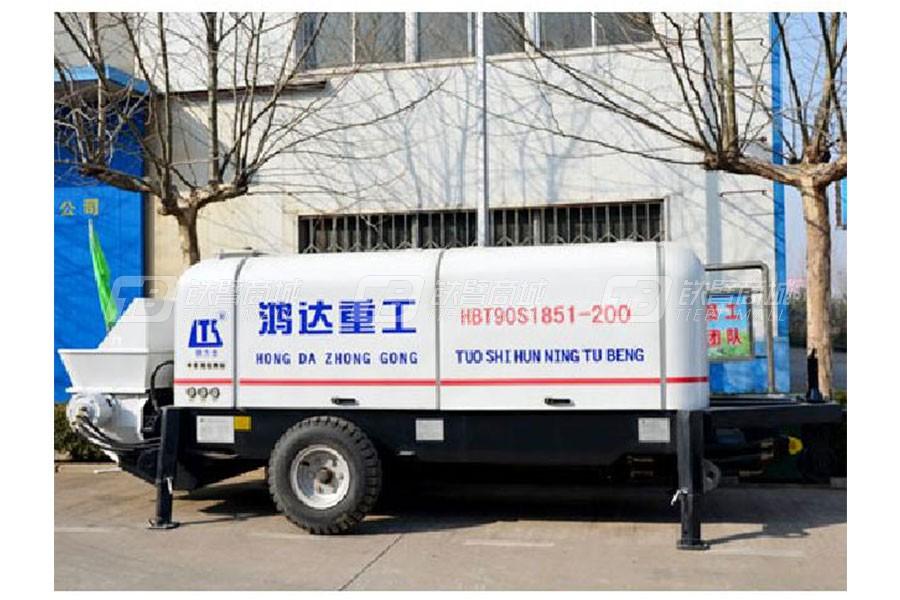 铁力士HBT90S1851-200混凝土输送泵