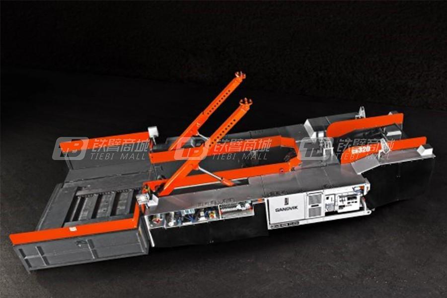 山特维克CR320破碎机
