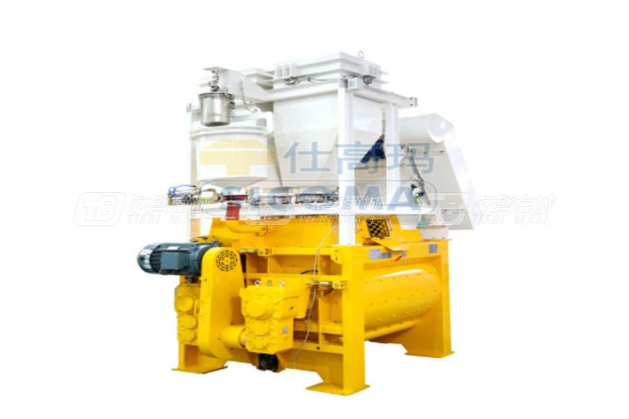 仕高玛MSO2250/1500超小型双卧轴商品混凝土搅拌机
