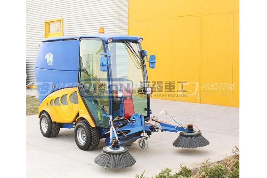 山东汇强柴油清扫机(2扫刷)清扫车