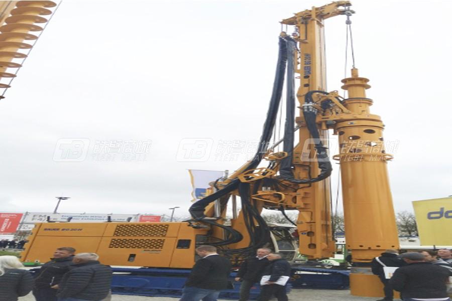 德国宝峨BG 20H专用型旋挖钻机 (BT 50 主机)