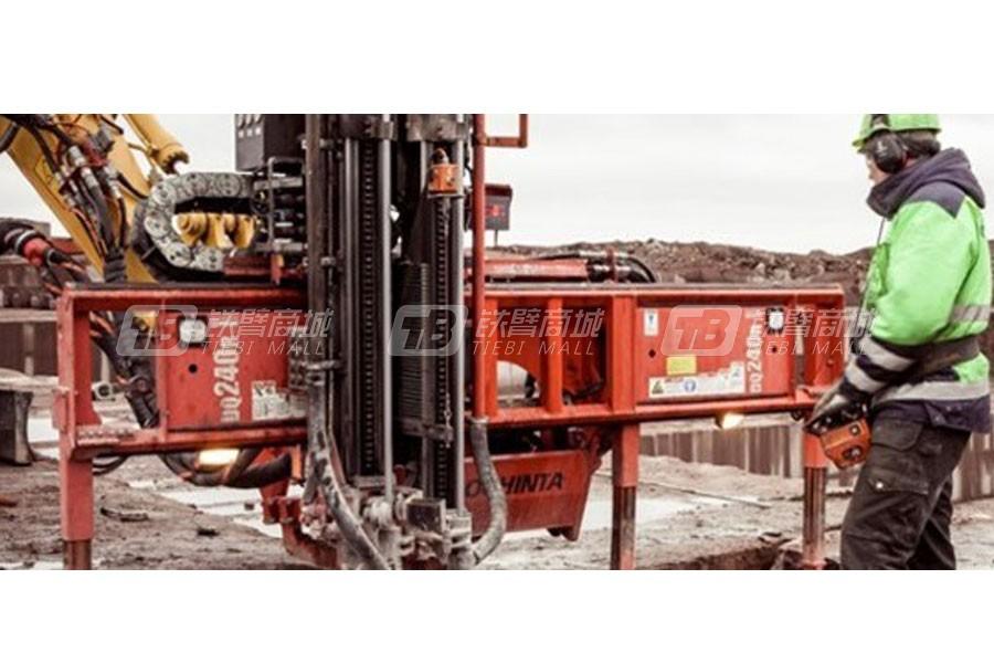 山特维克Trimmer DQ240R立体石料钻机