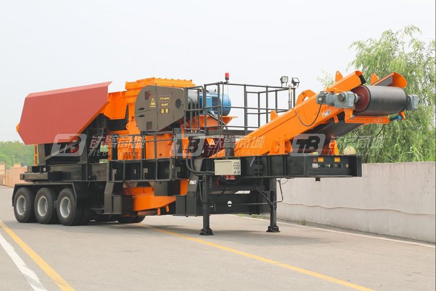 山宝CW-710J轮式破碎站