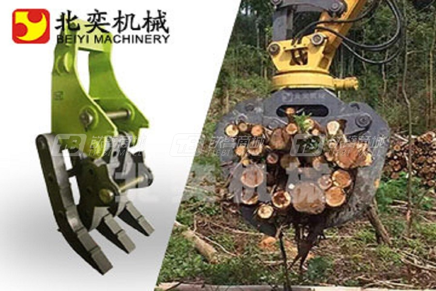 北奕机械BY-MGL08C机械抓钢器