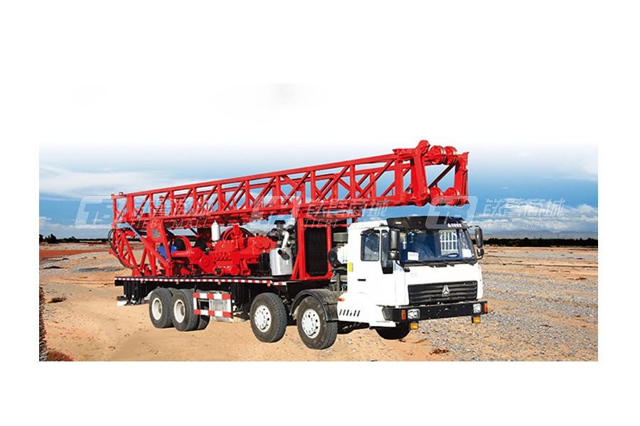 石煤SPC-600车载转盘式钻机