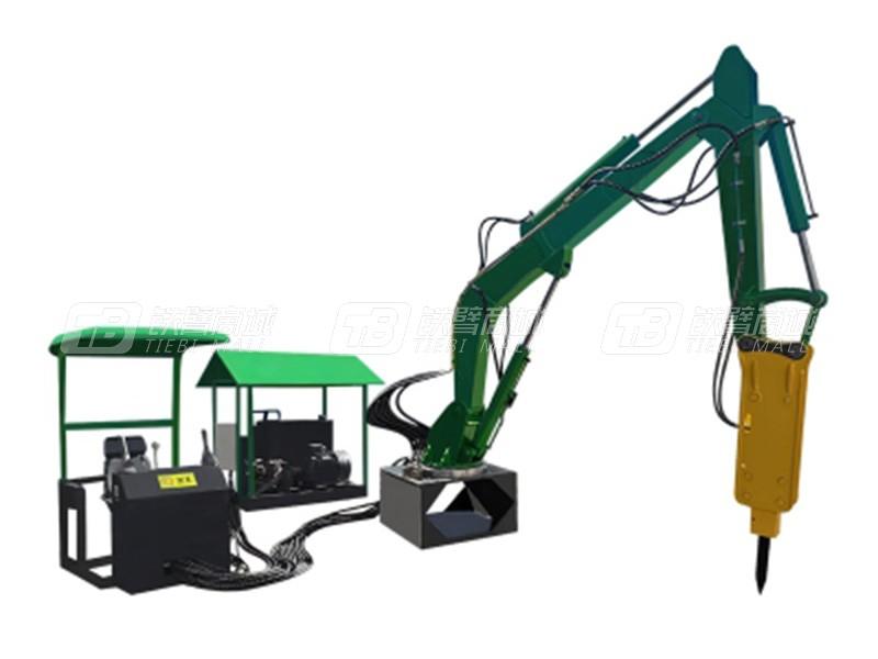 隆怡德PC750固定式矿用液压破碎机械臂