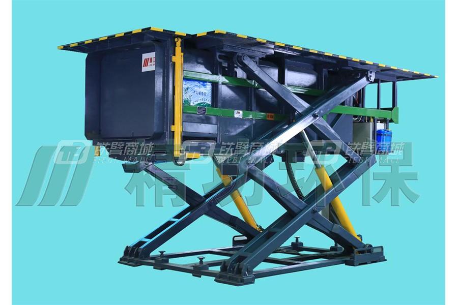 精功LSY-8B地埋升降式压缩垃圾站(边支架系列)