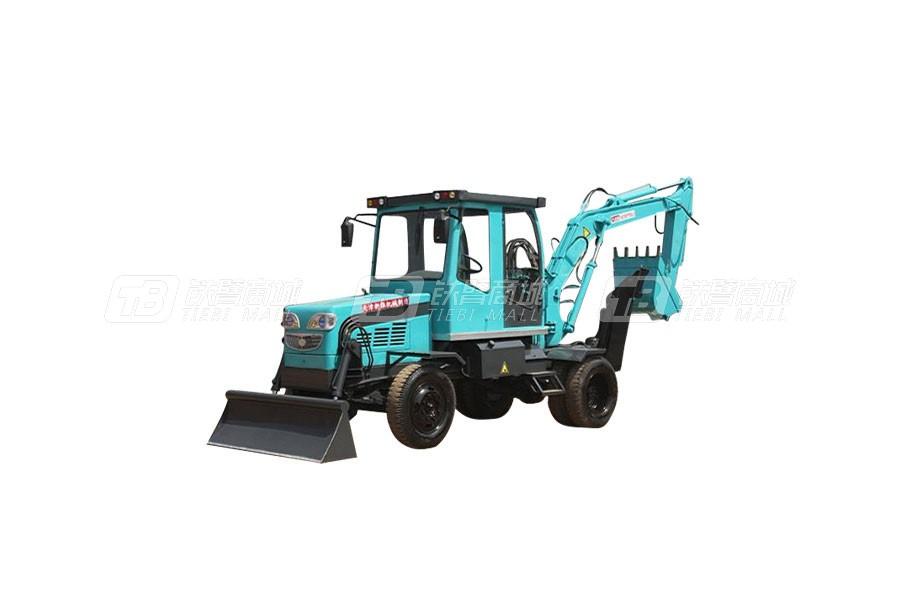 新振XZ-80DF轮式挖掘机