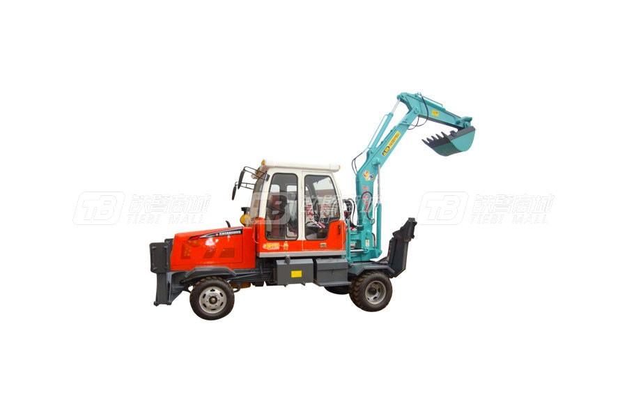 新振XZ-702014轮式挖掘机