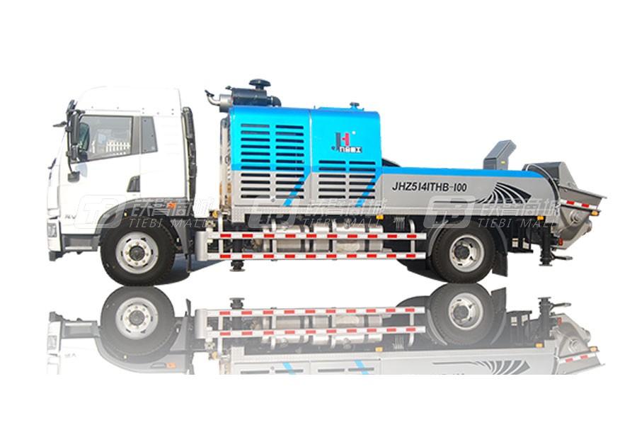 九合重工JHZ5141THB-100-22车载混凝土输送泵