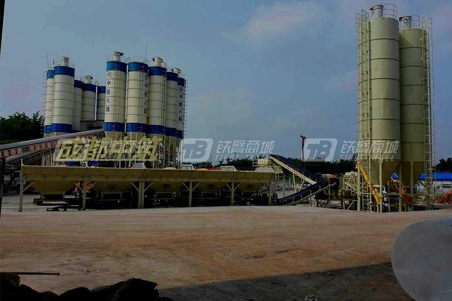 成都中筑WBC700模块式稳定土厂拌设备