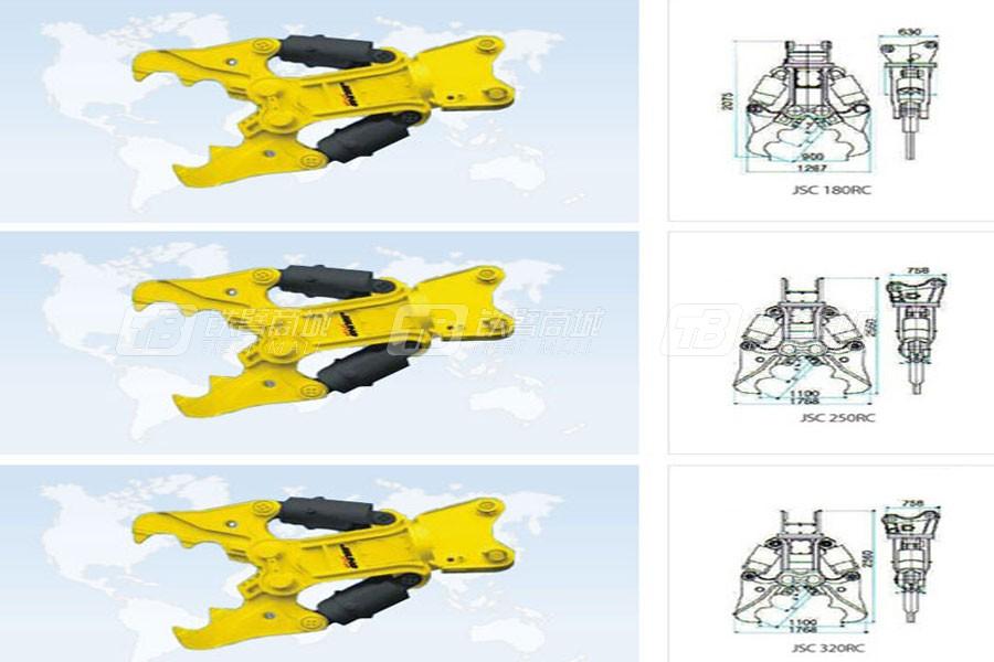 吉星JSC 180RC液压剪轧碎器系列剪切机