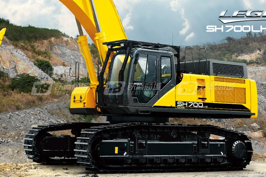 住友SH700LHD-5B履带挖掘机