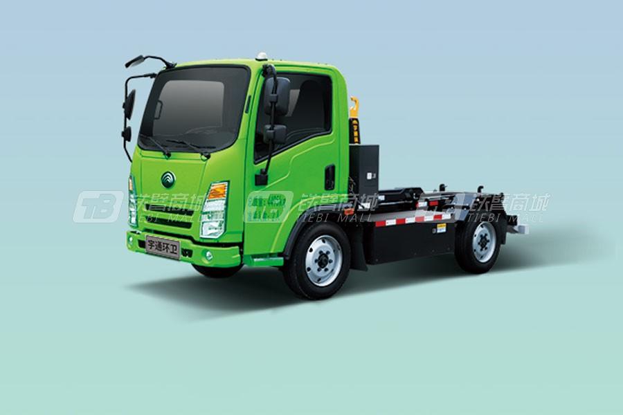 宇通环卫YTZ5040ZXXD0BEVW4纯电动车厢可卸式垃圾车