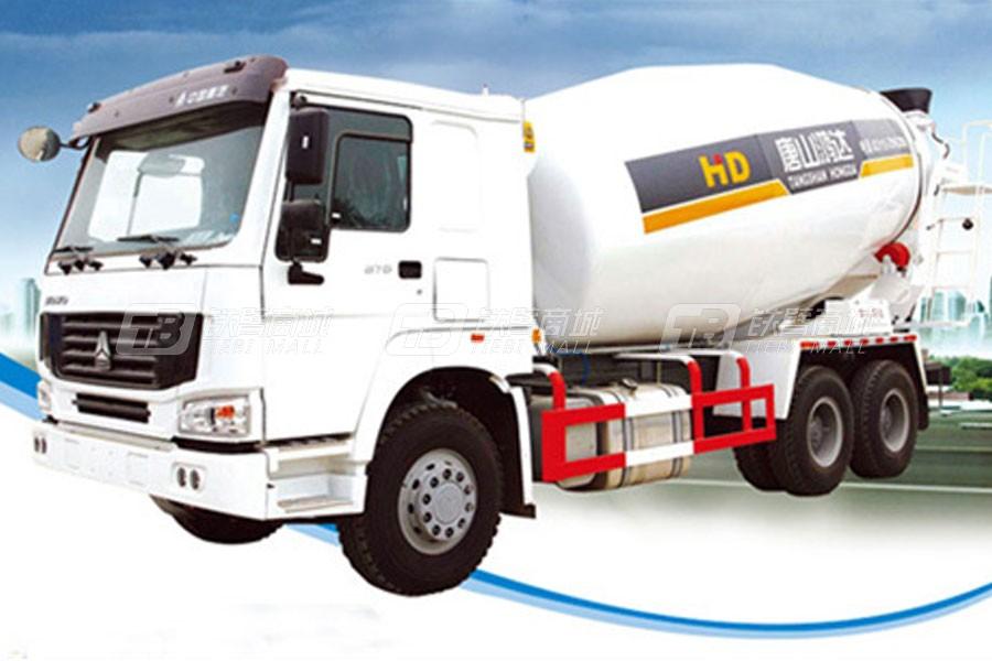 唐鸿重工XT5250GJBZZ38G4混凝土搅拌运输车