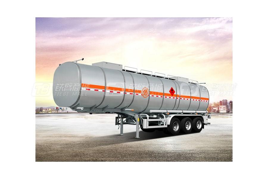 骏通JF9405GRYB碳钢保温液体运输半挂车