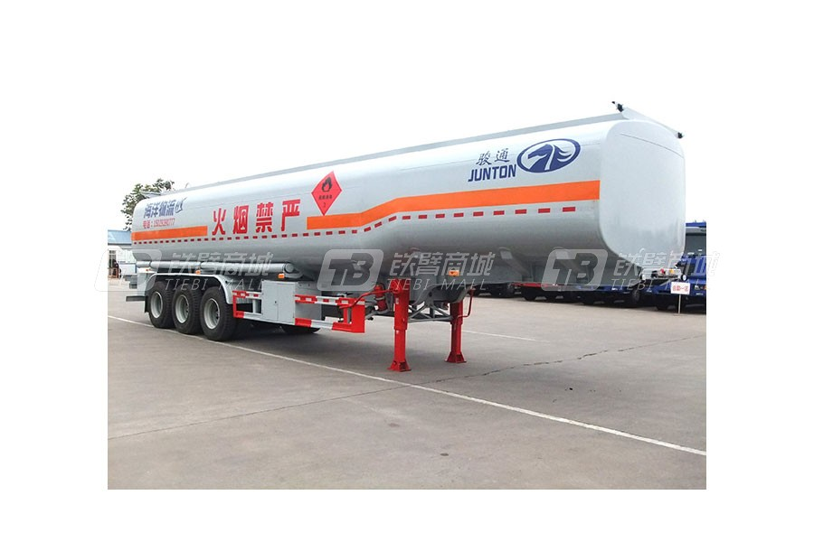 骏通JF9400GYY碳钢液体运输半挂车