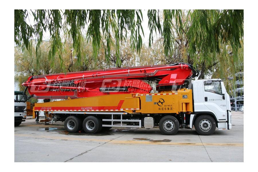 青岛科尼乐KNL5420THB 58X-6RZ重庆五十铃58米混凝土泵