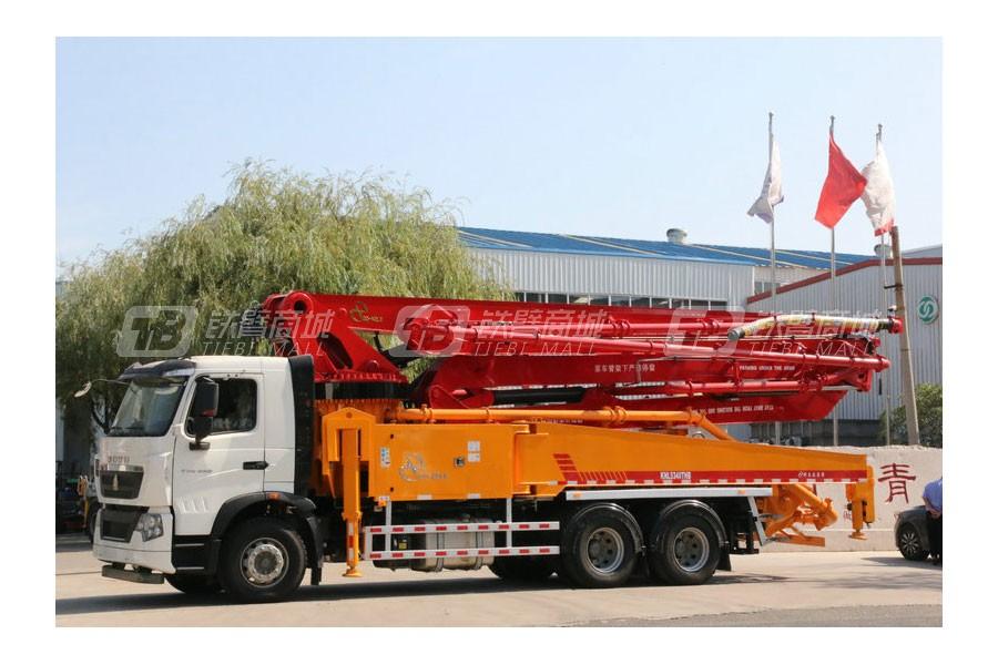 青岛科尼乐KNL5331THB44X-5RZ重汽44米混凝土泵车