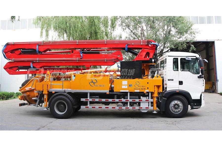 青岛科尼乐ZZ5207M521GE1重汽T5G30米混凝土泵车