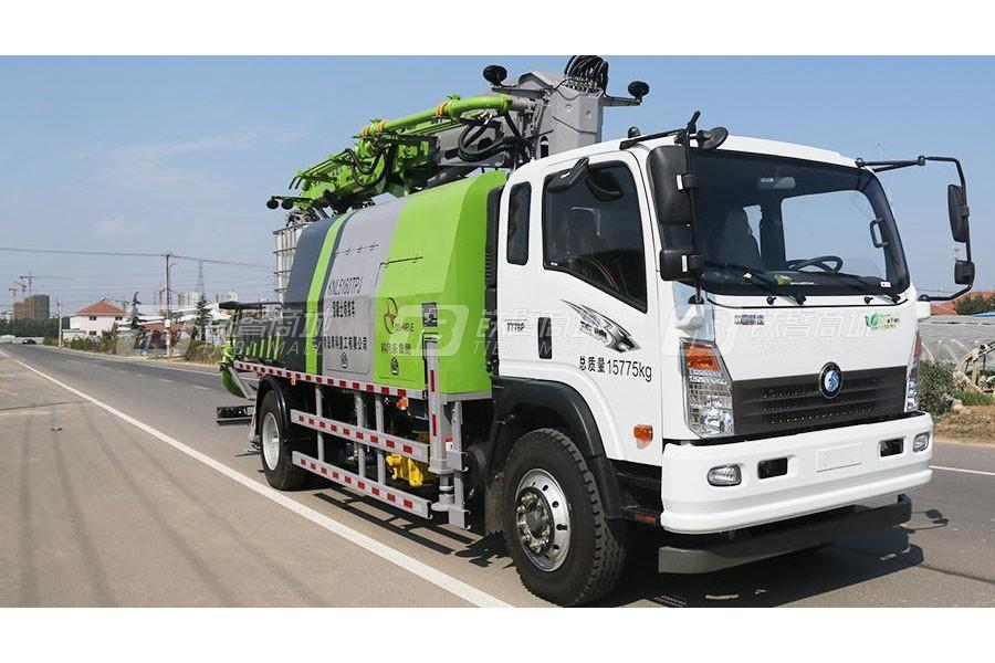 青岛科尼乐QHP30湿喷机台车