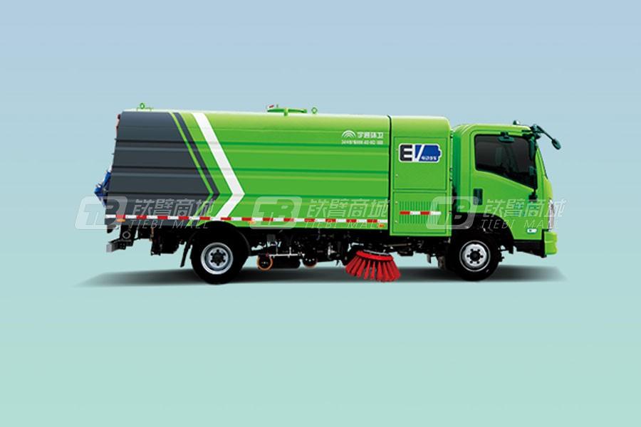 宇通环卫YTZ5100TXSD0BEVW10纯电动洗扫车