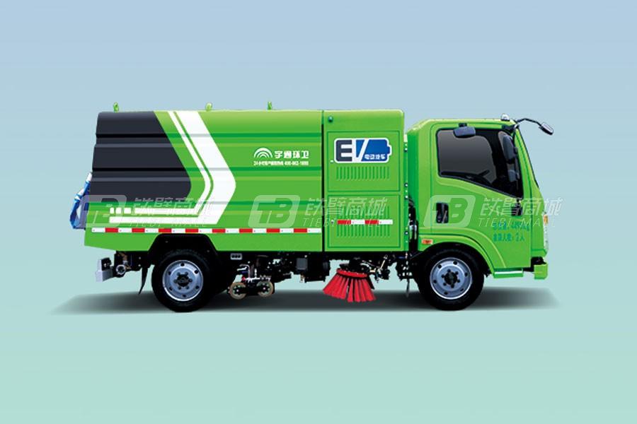 宇通环卫YTZ5040TXSD0BEVW4纯电动洗扫车