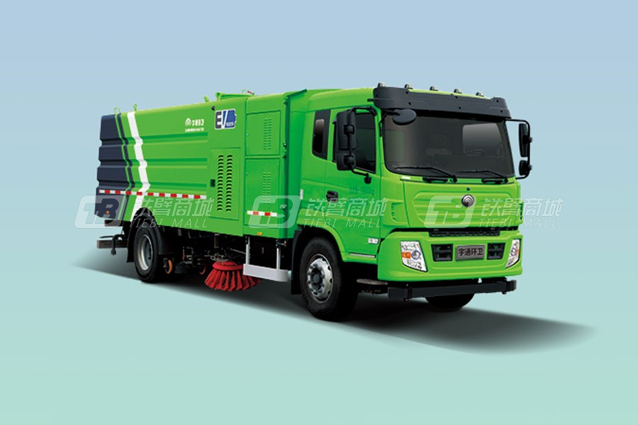 宇通环卫YTZ5180TXSD0BEVW18纯电动洗扫车
