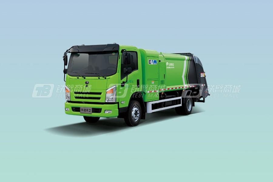 宇通环卫YTZ5100ZYSD0BEVW10纯电动压缩式垃圾车