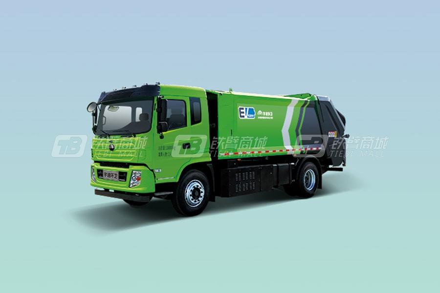 宇通环卫YTZ5180ZYSD0BEVW18纯电动压缩式垃圾车