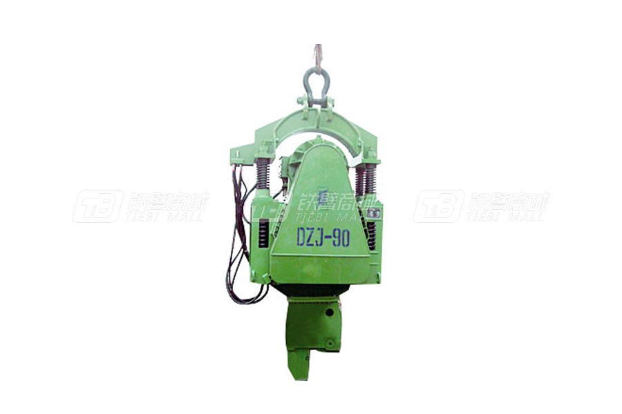 浙江振中EP120可调偏心力矩振动桩锤