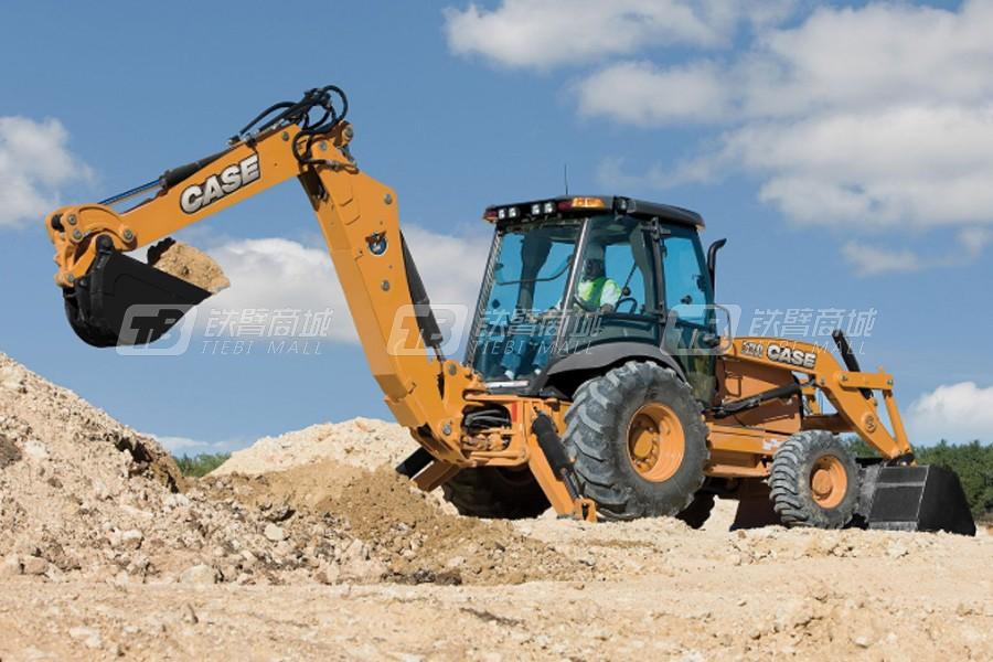 凯斯590SN挖掘装载机