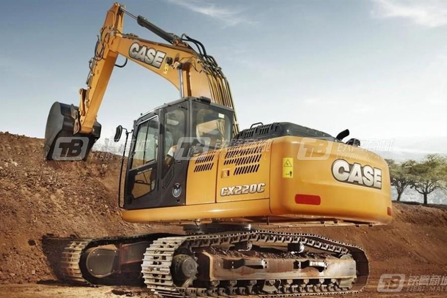 凯斯CX220C大型履带挖掘机