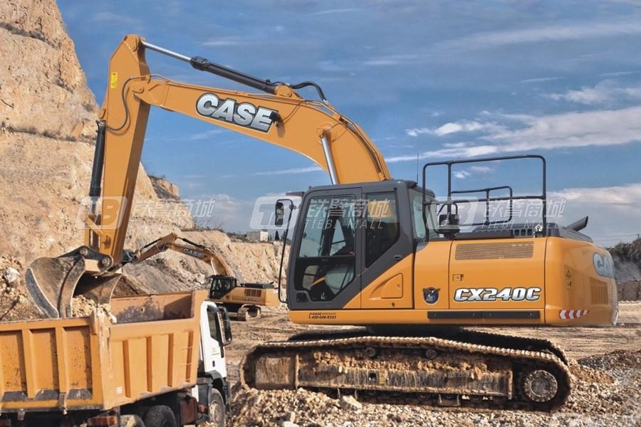凯斯CX240C大型履带挖掘机