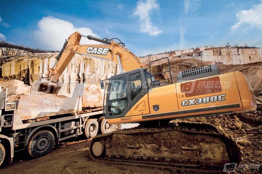 凯斯CX380C大型履带挖掘机