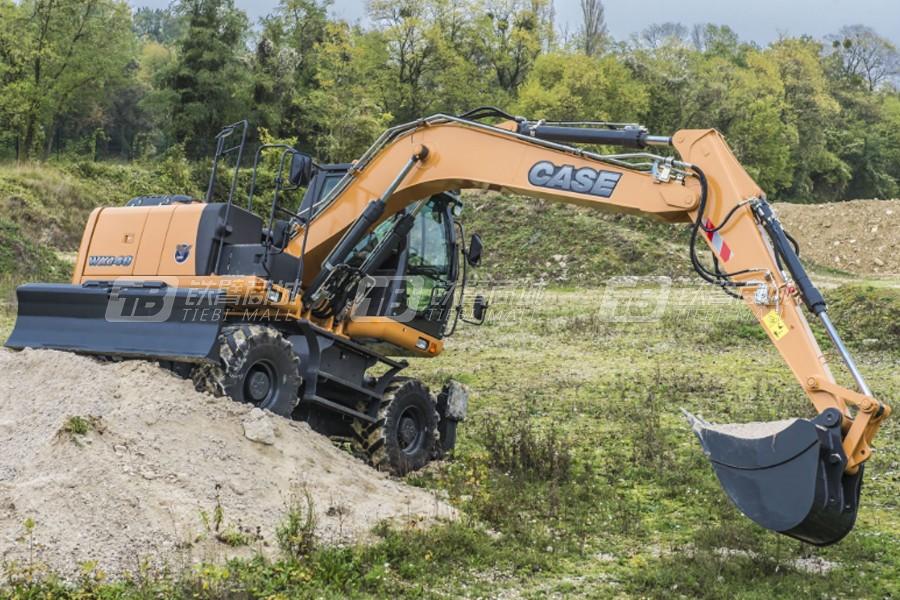 凯斯WX148轮式挖掘机