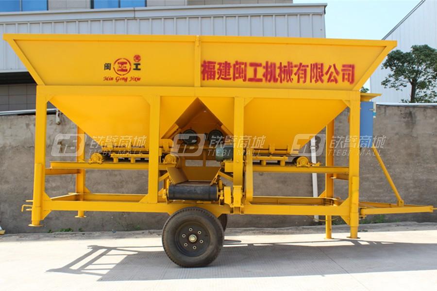 闽工PLJ800混凝土配料机