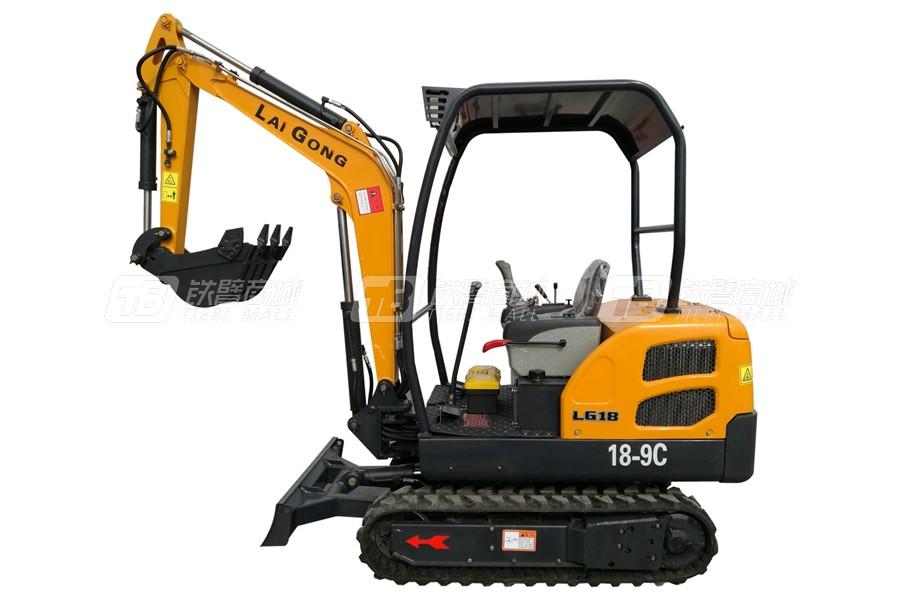 莱工LG18履带挖掘机