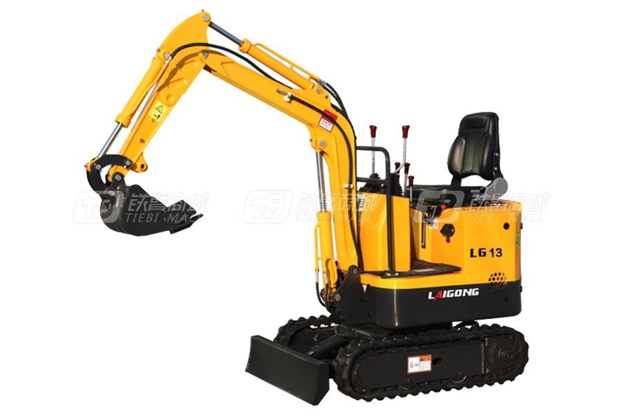 莱工LG13履带挖掘机