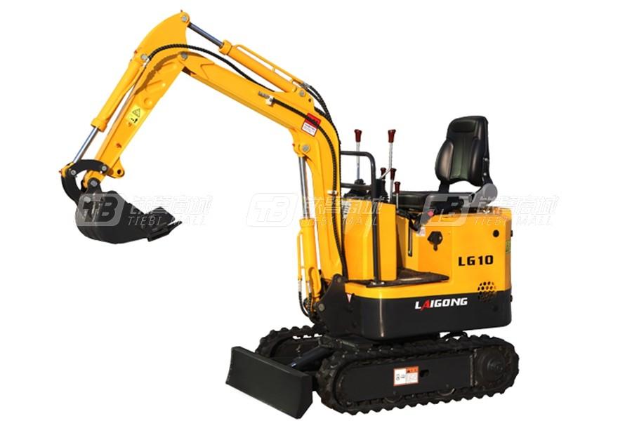 莱工LG10履带挖掘机
