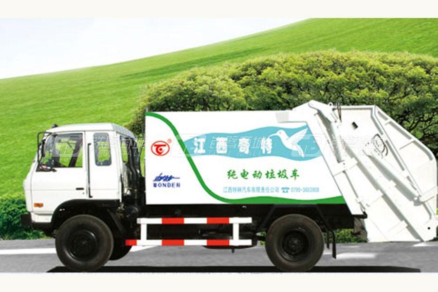 宜工纯电动垃圾车纯电动垃圾车
