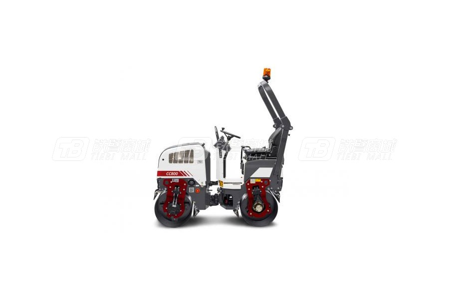 戴纳派克CC800 PLUS双钢轮振动压路机