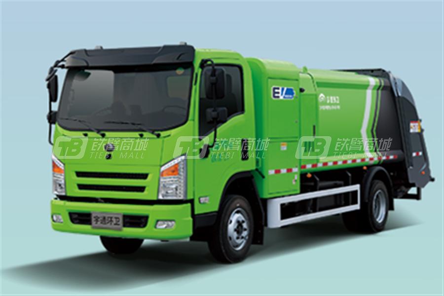 宇通环卫YTZ5101ZYSD0BEV纯电动压缩式垃圾车