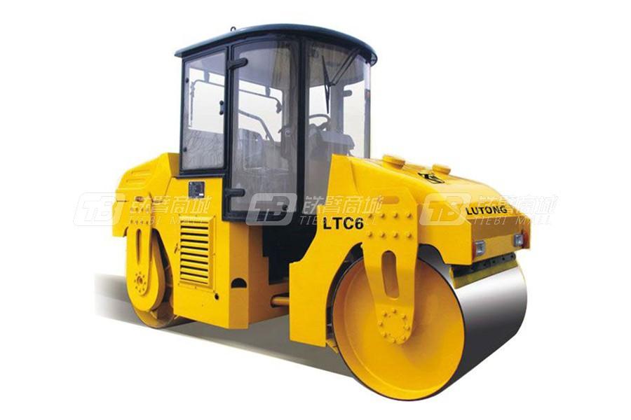 洛阳路通LTC6D双钢轮压路机