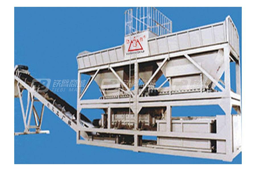 岳首JWB500稳定土厂拌设备