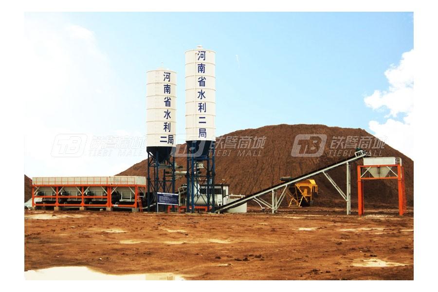 岳首MGB800模块式改良土厂拌设备