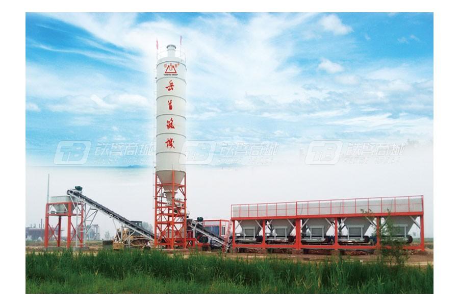 岳首MWB400I模块式稳定土厂拌设备